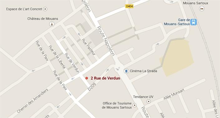 2 rue de Verdun